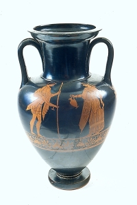 Amphora by the Berlin Painter