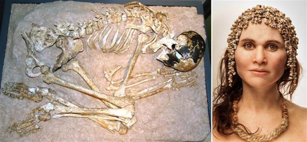 Magdalenian Era skeleton