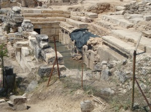 The Plutonion at Hierapolis, Turkey.
