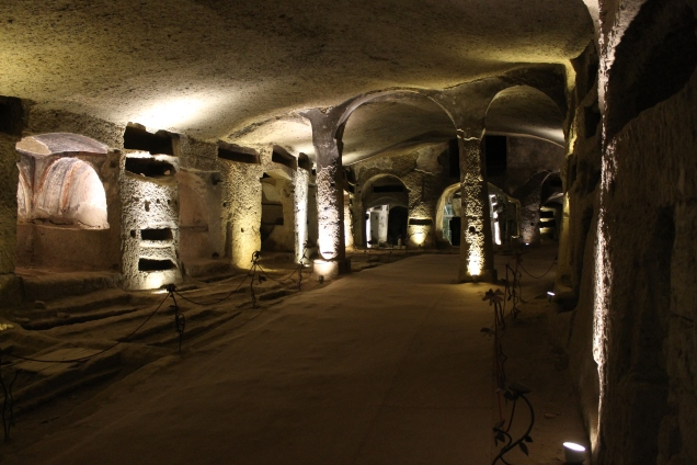Naples catacombs
