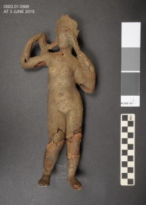 Figurine of Aphrodite, after treatment.