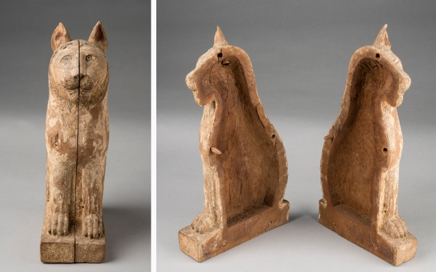 Cat mummy coffin
