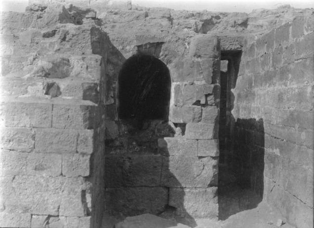 photo of a wall niche