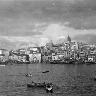 """View toward Pera and the Galata Tower."" KS043.11."