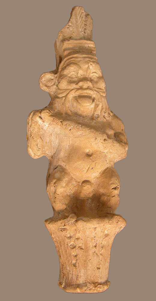 terracotta figurine of Bes
