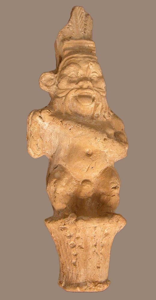 terracotta figurine of Bes